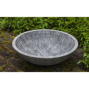 Campania International Equinox Water Bowl Birdbath