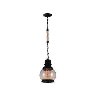 CWI Lighting 1-Light Bell Pendant