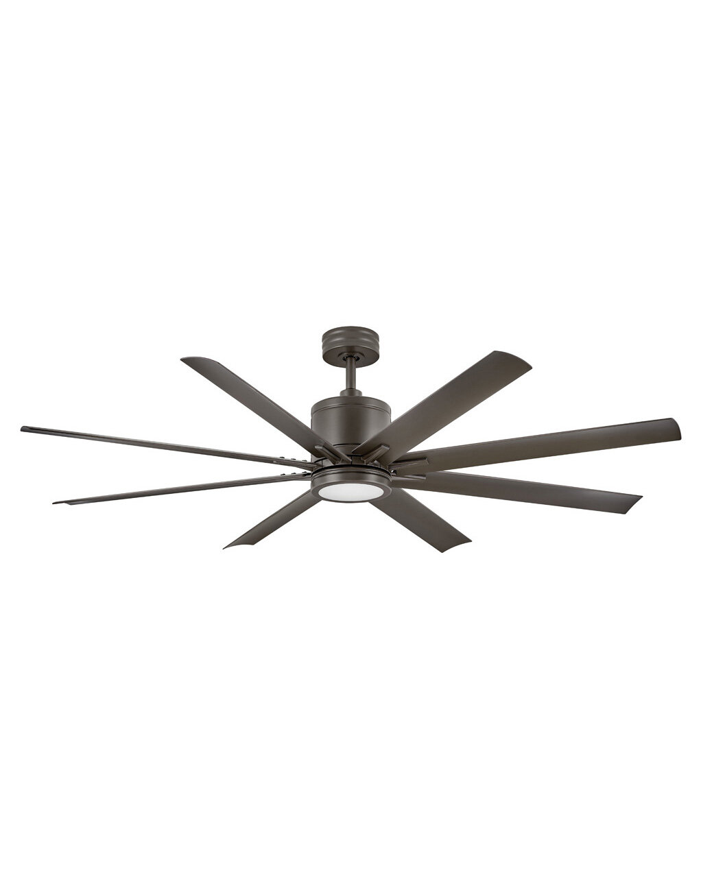 Red Barrel Studio 66 Friedler 8 Blade Outdoor Led Windmill Ceiling Fan With Wall Control And Light Kit Included Reviews Wayfair