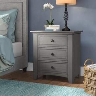 Woodside 3 Drawer Nightstand