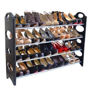 Maison Condelle 4 Tier 20 Pair Shoe Rack