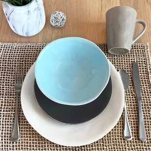 Serenity 16 Piece Dinnerware Set, Service for 4