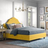 Nashborough Upholstered Standard Bed by Kelly Clarkson Home