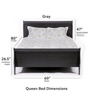 Metro Wood Panel Bed
