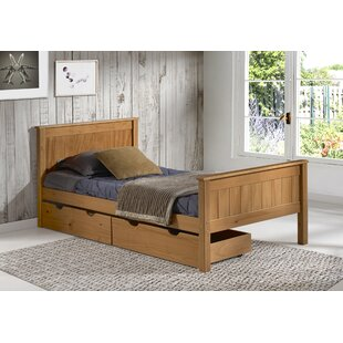 Best Price Beckett Slat Bed with Storage Drawers By Harriet Bee
