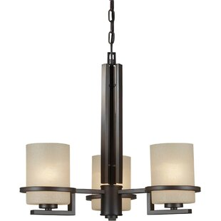 Winston Porter Vanzandt 3-Light Shaded Chandelier