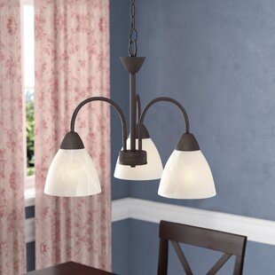 Andover Mills Sheldrake 3-Light Shaded Chandelier