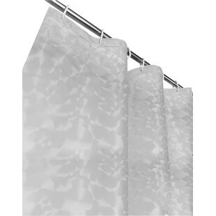 Best Reviews Vinyl Shower Curtain By Dainty Home