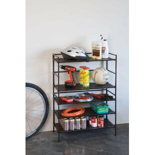 Low priced 18 Pair Stackable Shoe Rack By Rebrilliant