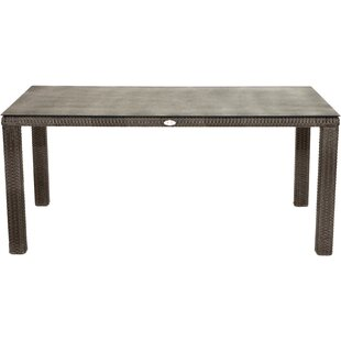 Woodmont Rattan Dining Table By Sol 72 Outdoor