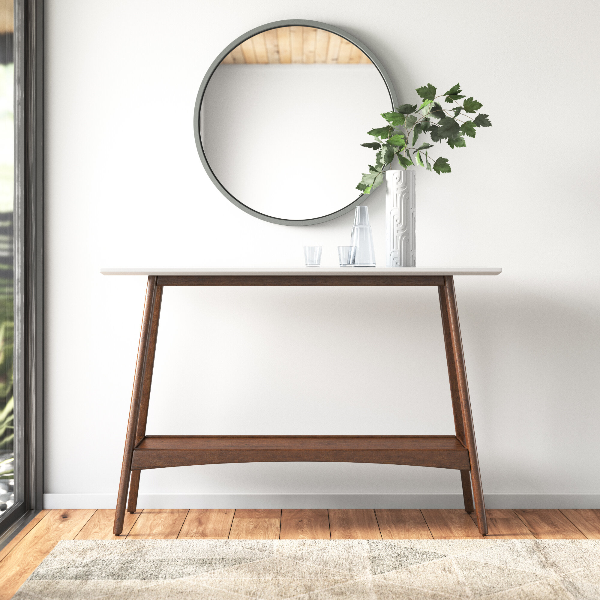 Mid Century Modern Storage Console Tables You Ll Love In 2021 Wayfair