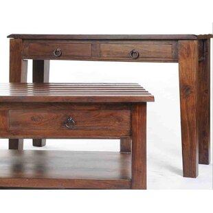 Aishni Home Furnishings Wave Console Table