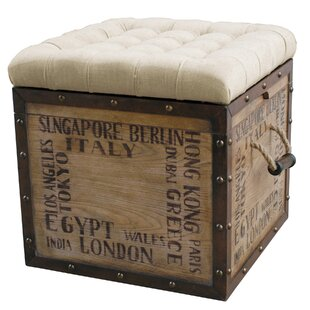 Chilhowee Tufted Storage Ottoman