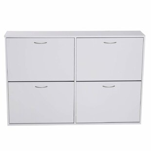 24 Pair Shoe Storage Cabinet By Symple Stuff