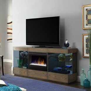 Online Reviews Axel TV Stand for TVs up to 70 with Electric Fireplace By Dimplex