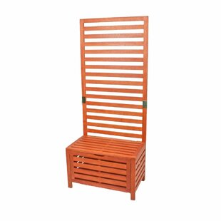 Wooden Storage Bench By Sol 72 Outdoor