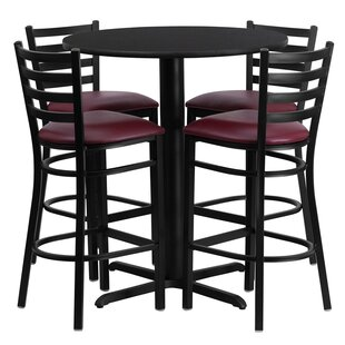 Red Barrel Studio Wen 5 Piece Pub Table Set
