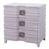 Ina 3 Drawer Bachelor's Chest by Bungalow Rose