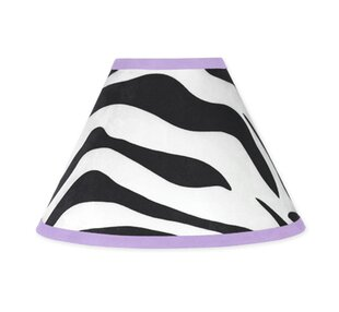 Zebra 10 Cotton Empire Lamp Shade