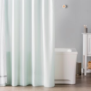 Waterproof Single Shower Curtain Liner By Symple Stuff