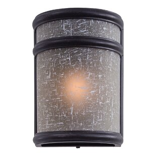 Great Outdoors by Minka Delshire Point 1-Light Outdoor Flush Mount