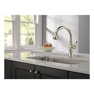 Cassidy Pull Down Single Handle Kitchen Faucet with MagnaTite® Docking