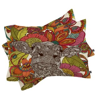 Valentina Ramos Arabella and Flowers Pillowcase