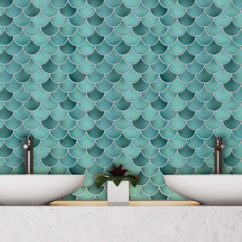 "12"" X 12"" Gel Peel & Stick Mosaic Tile by Walplus"