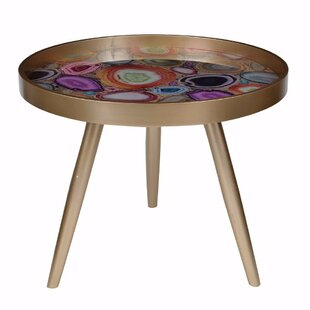 Pamrapo Colorfully Exuberant End Table by Mercer41 Great Reviews