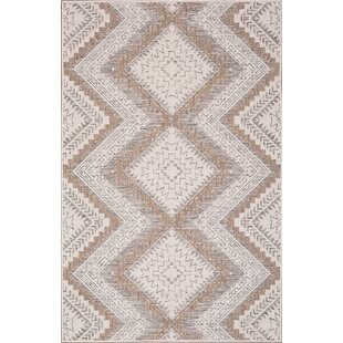 Annie Ivory/Sand Indoor/Outdoor Area Rug