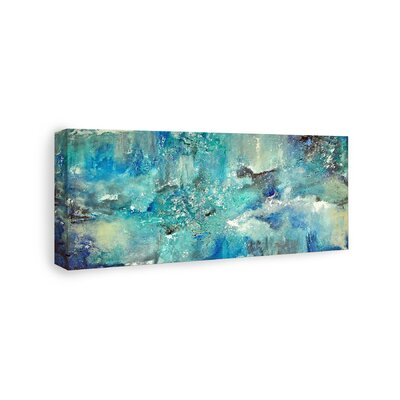 Wrought Studio 'Dream' Graphic Art on Wrapped Canvas Size: 20 H x 40 W x 1.5 D