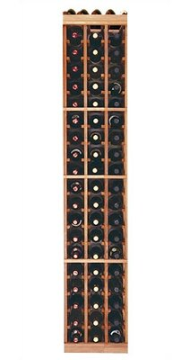 Wine Cellar Innovations Designer Series 60 Bottle Floor Wine Rack Finish: Premium Redwood Dark Stain