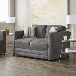 Serta Upholstery Baumann Loveseat by Mercury Row
