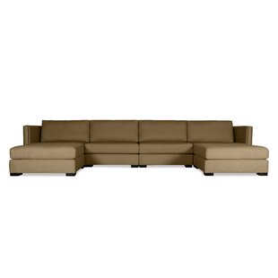 Timpson Plush Deep Modular Sectional With Ottoman by Latitude Run Coupon