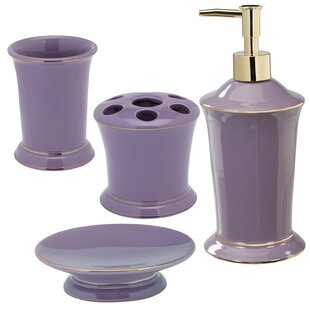 Beau Brown U0026 Purple Bathroom Accessories Youu0027ll Love In 2019 ...
