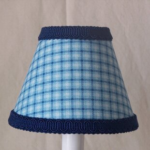 Spartan Plaid 11 Fabric Empire Lamp Shade