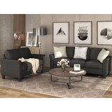 Amielle 3 Piece Living Room Set by Red Barrel Studio®
