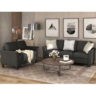 Atlee 2 Piece Standard Living Room Set by Red Barrel Studio