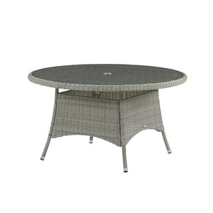 Gannon Rattan Dining Table By Sol 72 Outdoor