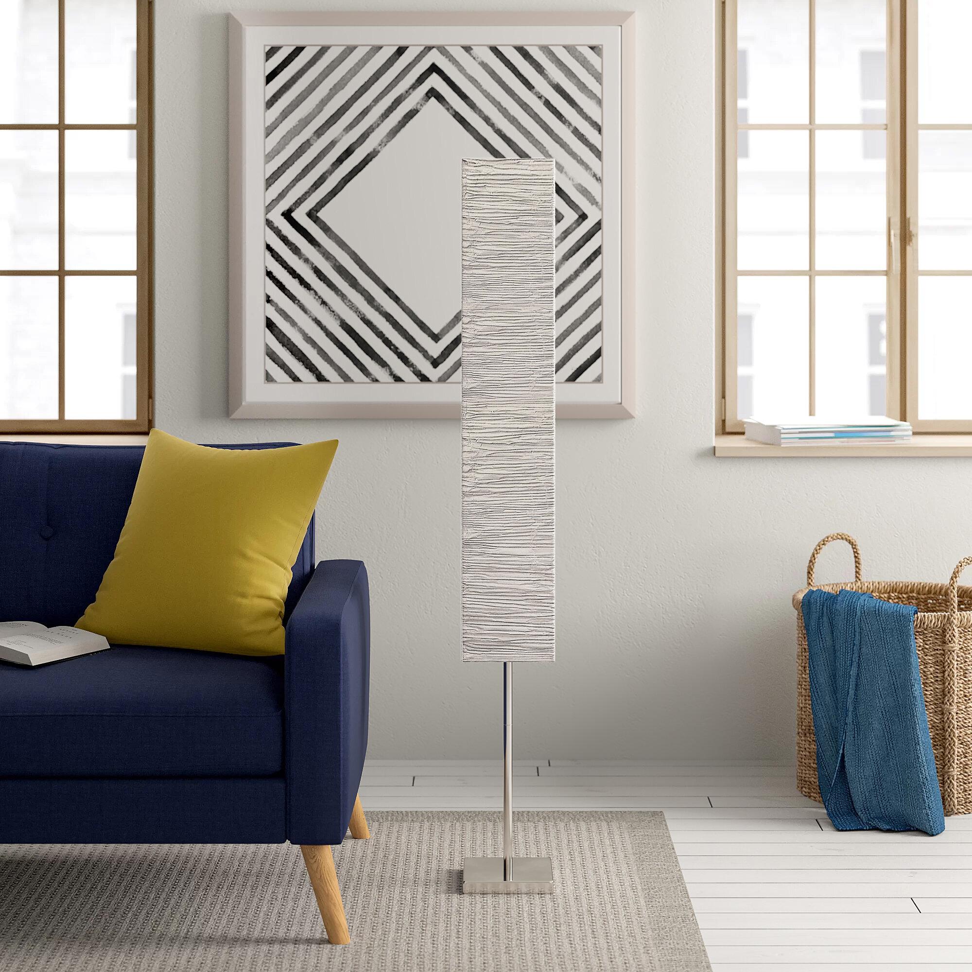 Zipcode Design Oretha 146 Cm Saule Stehlampe Bewertungen Wayfair De