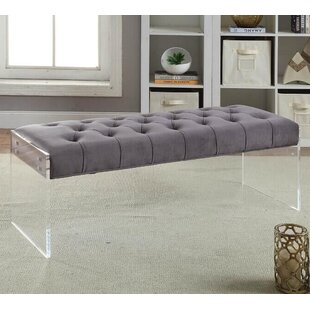 Everly Quinn Orchard Upholstered Bench