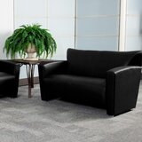 Gallentine Leather Loveseat by Latitude Run®