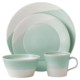 1815 16 Piece Dinnerware Set, Service for 4