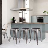 Weehawkwn Counter Stool by 17 Stories