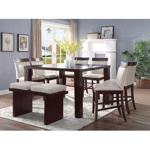 Harker 8 Piece Counter Height Dining Set