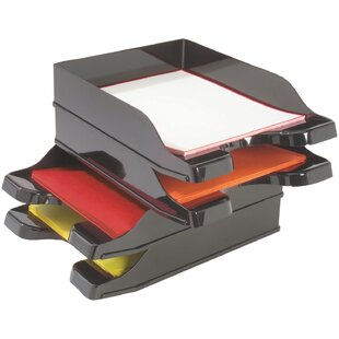 Deflect-O Docutray Multi Directional Stacking Tray (Set of 2)