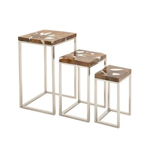 3 Piece Nesting Tables Set by Cole & Grey
