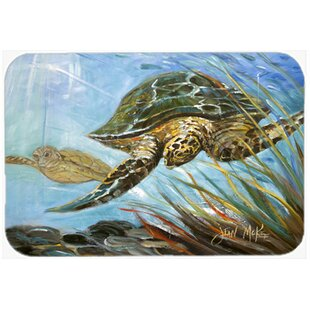 Review Loggerhead Sea Turtle Glass Cutting Board By Caroline's Treasures
