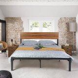 Ferber Queen Low Profil Platform Bed by 17 Stories