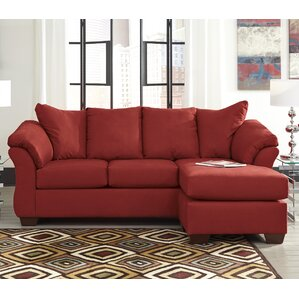 huntsville reversible sectional - Red Couch Living Room Pictures